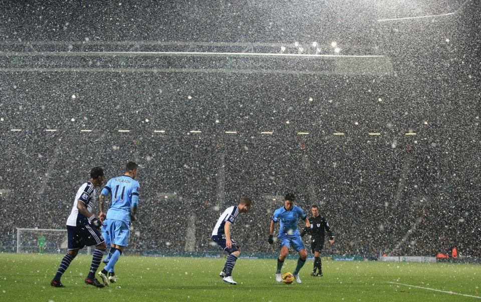 It'll be all white - well it will be if City achieve a club record of 10 consecutive wins today. Courtesy@MCFC