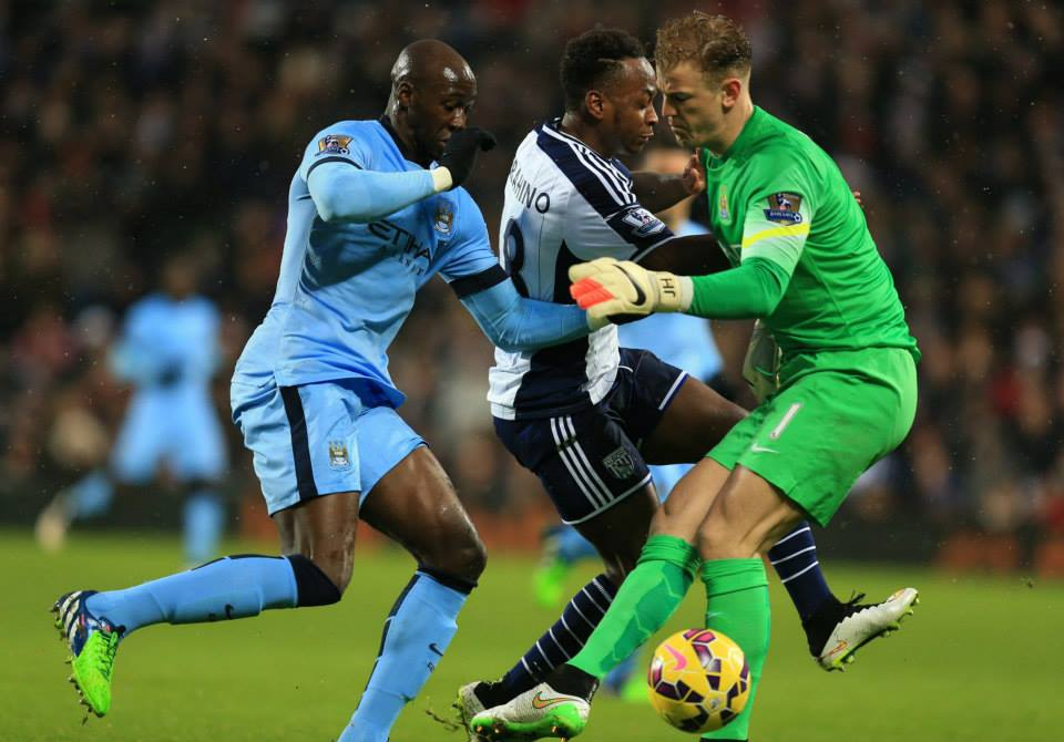 Back to the laundry - Joe Hart and Eliaquim Mangala will want a return to clean sheets today. Courtesy@MCFC