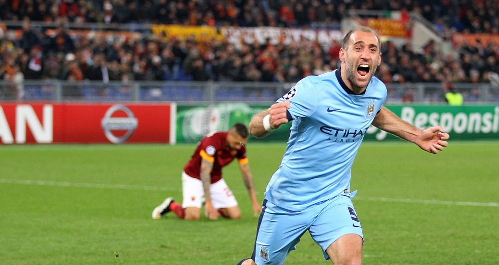 Gladiator - Zaba brought Roma to their knees. Courtesy@MCFC