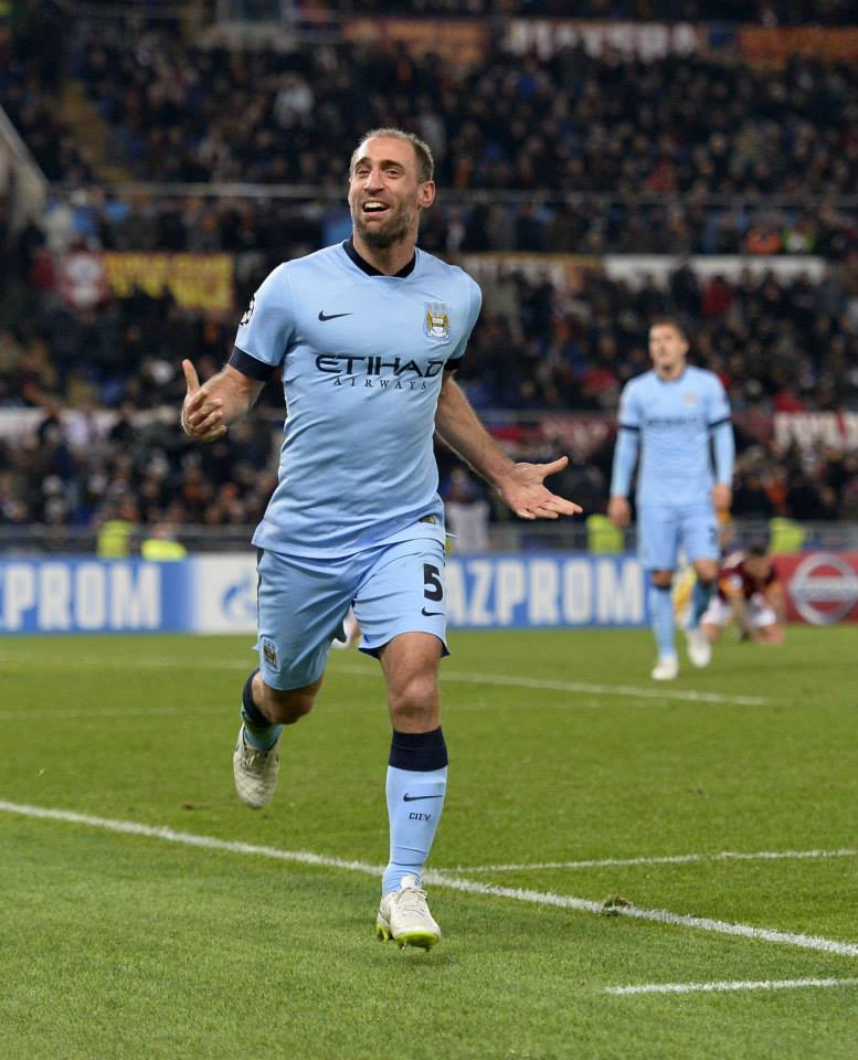 World Class - Is there a right back on the planet who is better than Zaba? Courtesy@MCFC