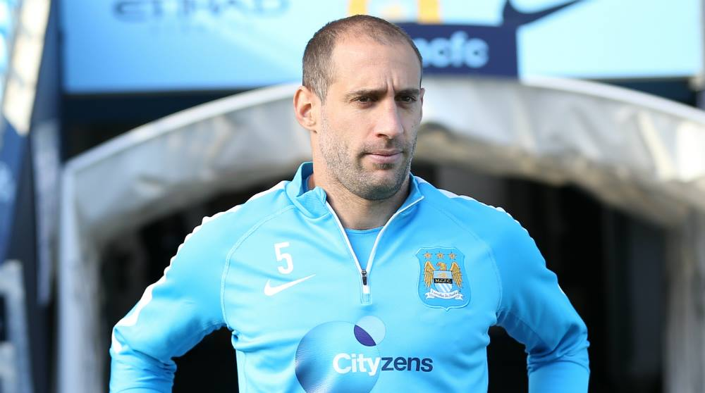Belief - Modern day City legend Zaba believes the Sky Blue gladiators can triumph in Rome. Courtesy@MCFC