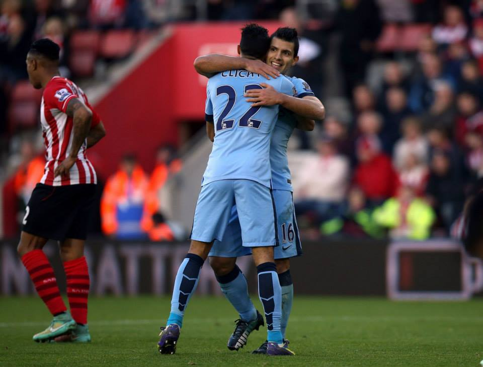 Sergio the provider - no goals but two assists for Aguero. Courtesy@MCFC