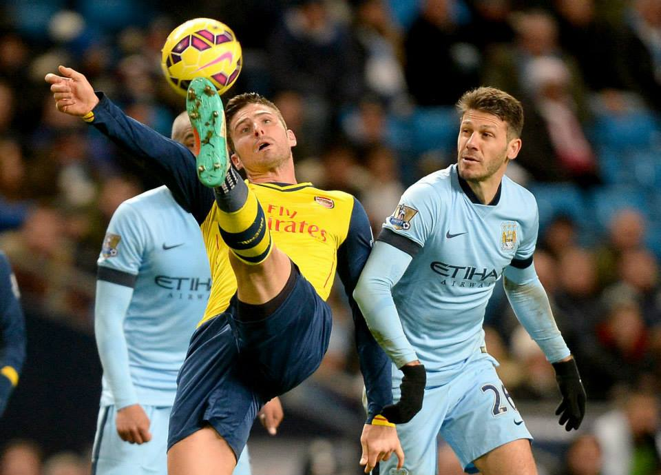 Mr Dependable - Martin Demichelis had an uncharacteristically poor game. Courtesy@MCFC