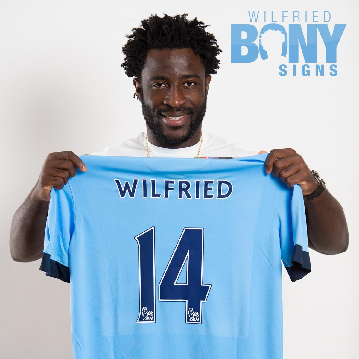 Welcome Wilfried - City's new £25m striker needs to get 'Out of Africa' asap and back to City's title push. Courtesy@MCFC