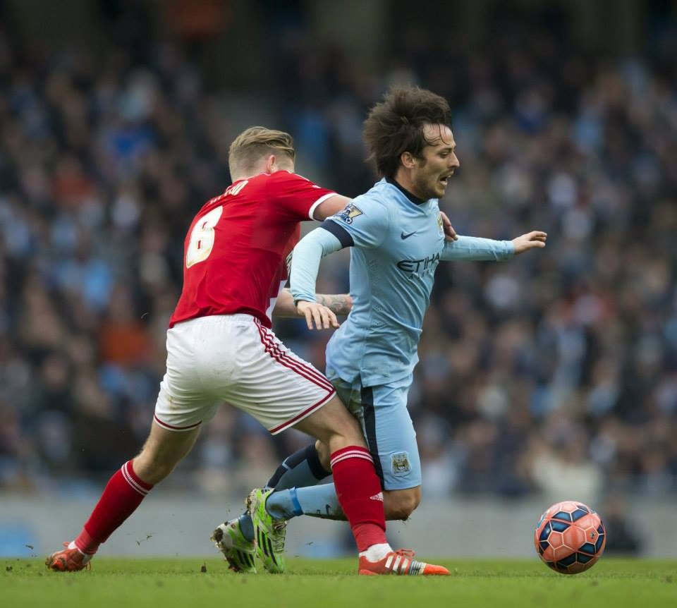 Magic of the Cup? - City's Merlin was unable to conjure up some trickery to overcome Middlesbrough. Courtesy@MCFC