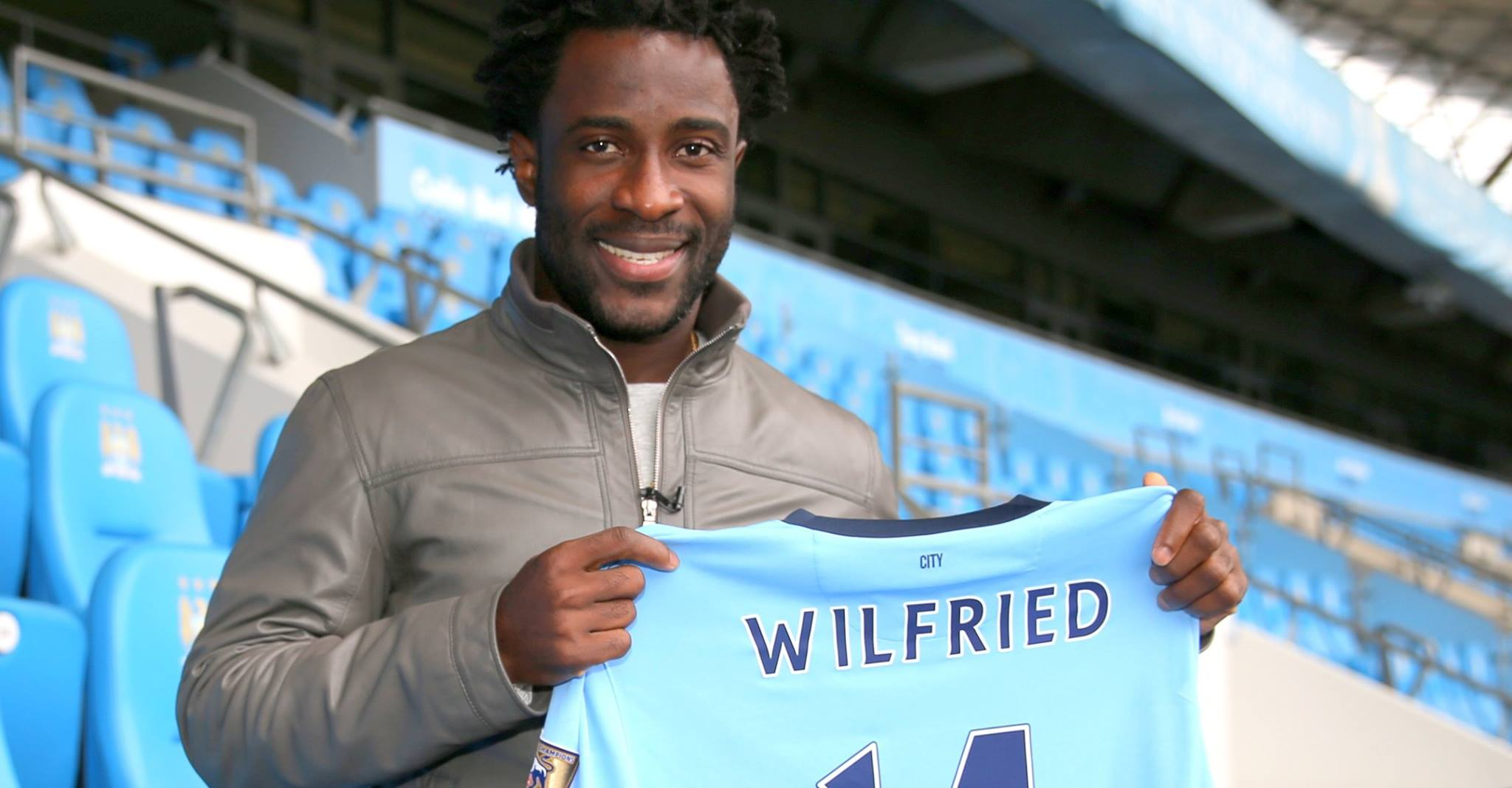 No ignition - Wilfried Bony has yet to open his scoring account at City. Courtesy@MCFC