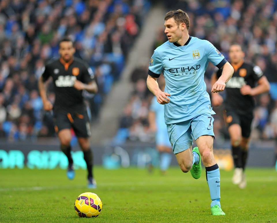 Game saver - James Milner came off the bench to salvage a point with a free kick of the highest technical ability. Courtesy@MCFC