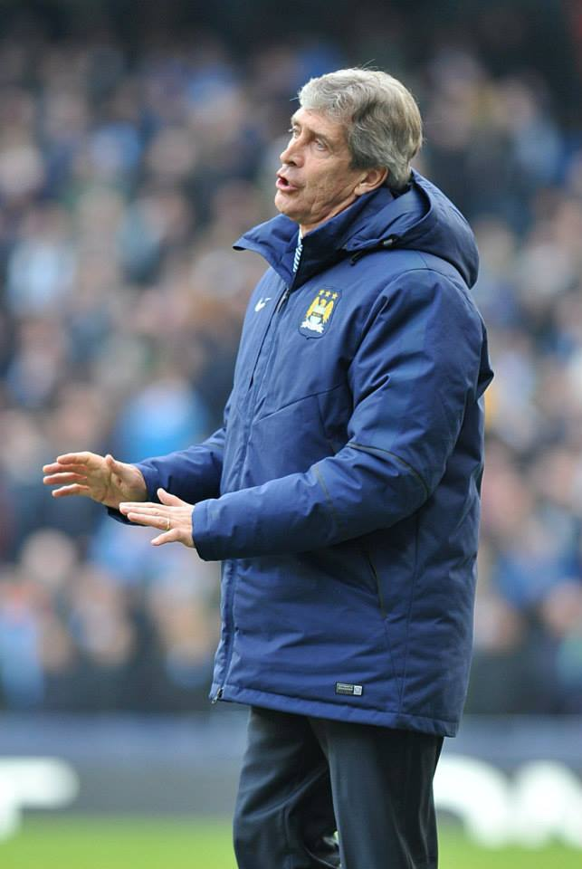 Lacking in ideas - The pressure is mounting on Manuel Pellegrini. Courtesy@MCFC