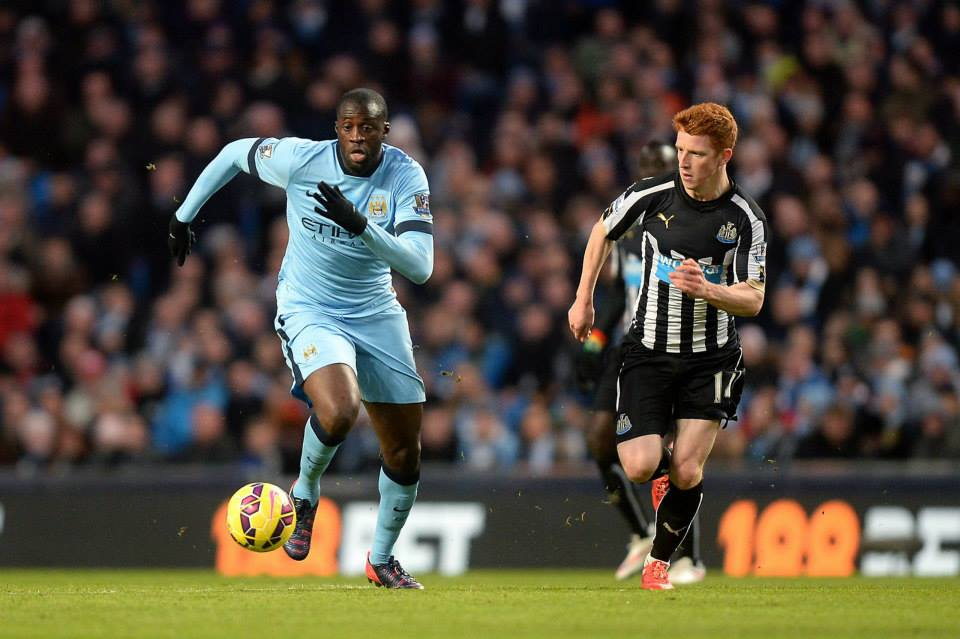 Enigmatic  - Yaya blows hot and cold for City. Courtesy@MCFC