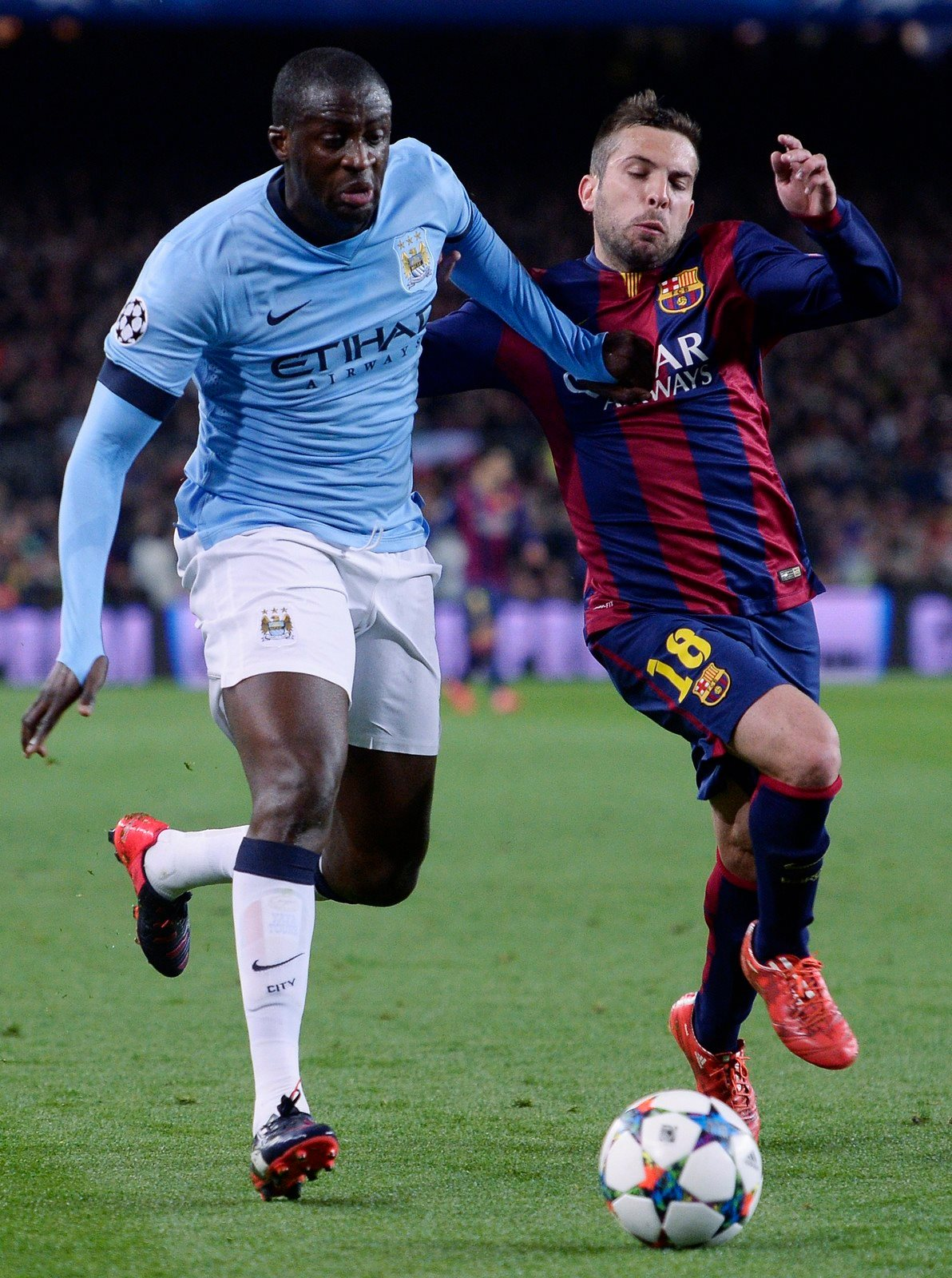 Exit strategy - will Yaya be leaving this summer as City rebuild their team? Courtesy@MCFC