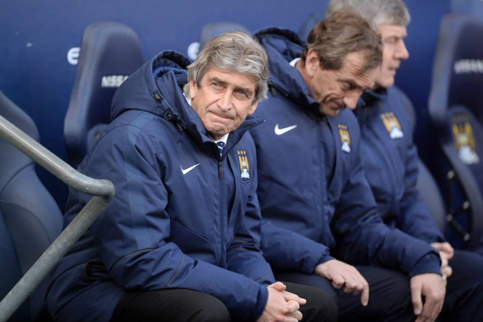 Crestfallen - City's manager looks destined to depart after a disappointing campaign, one that could yet get even worse. Courtesy@MCFC
