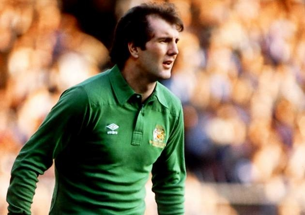 Big Joe - Corrigan never had any difficulties meeting the height criteria for a goalkeeper.