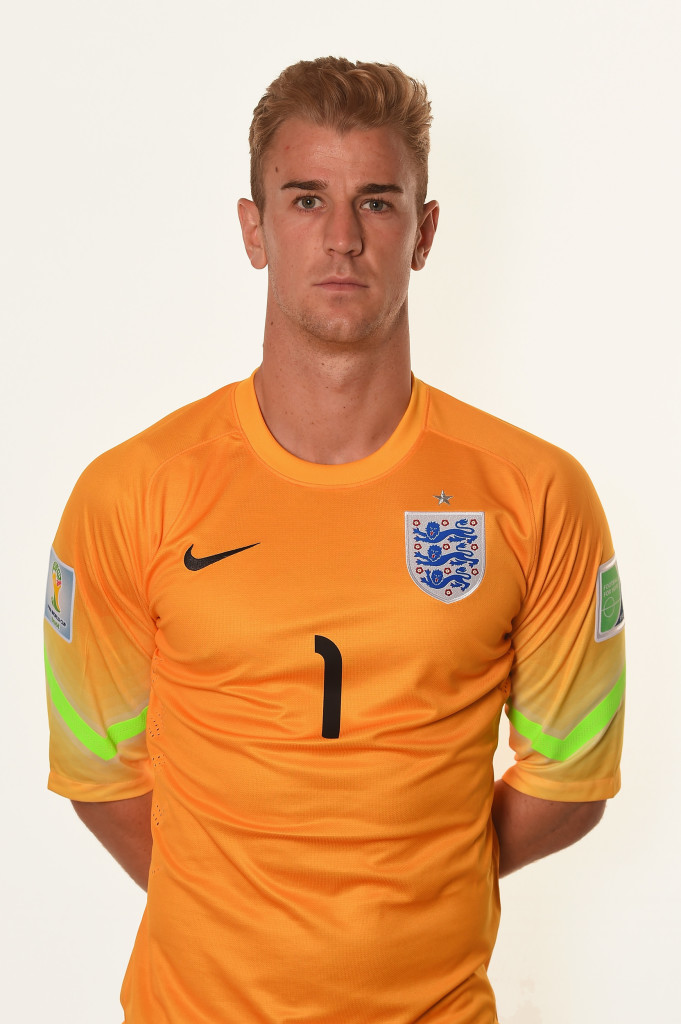 England's undisputed Number One - Joe Hart.
