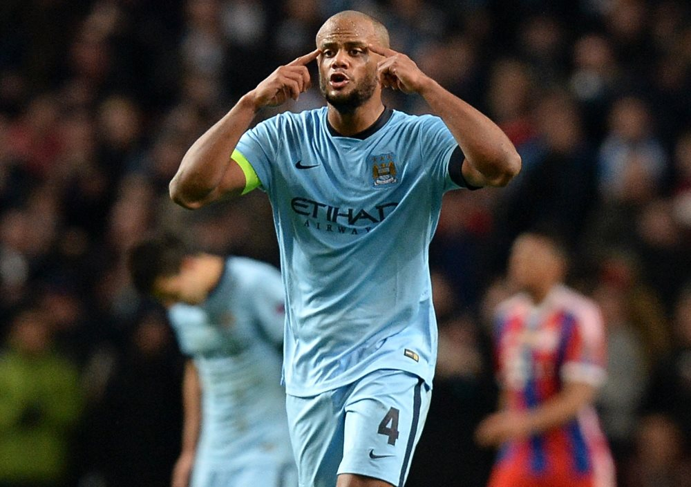 Re-focus - Captain Kompany has to rediscover his best form next season following a poor showing in 2014/15. Courtesy@MCFC
