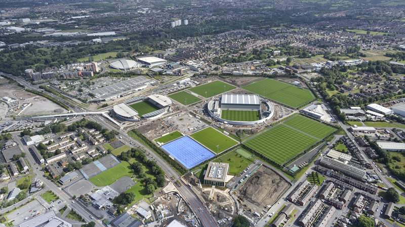 Simply the best - Manchester City's £200m City Football Academy is second to none when it comes to facilities in the football world.