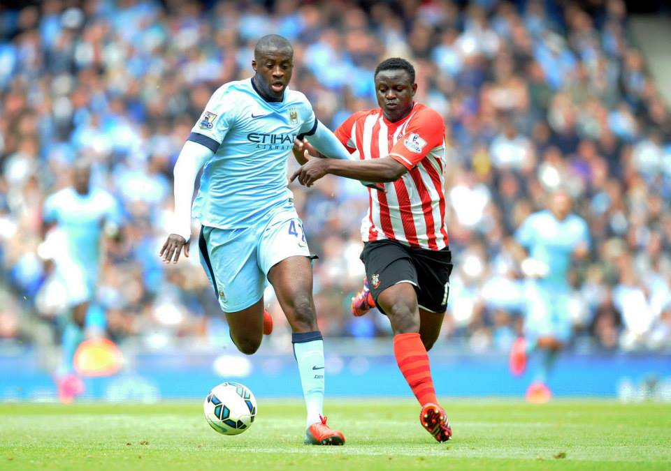 Powering on - City fans will hope to see a revitalised Yaya helping City to win trophies next season. Courtesy@MCFC