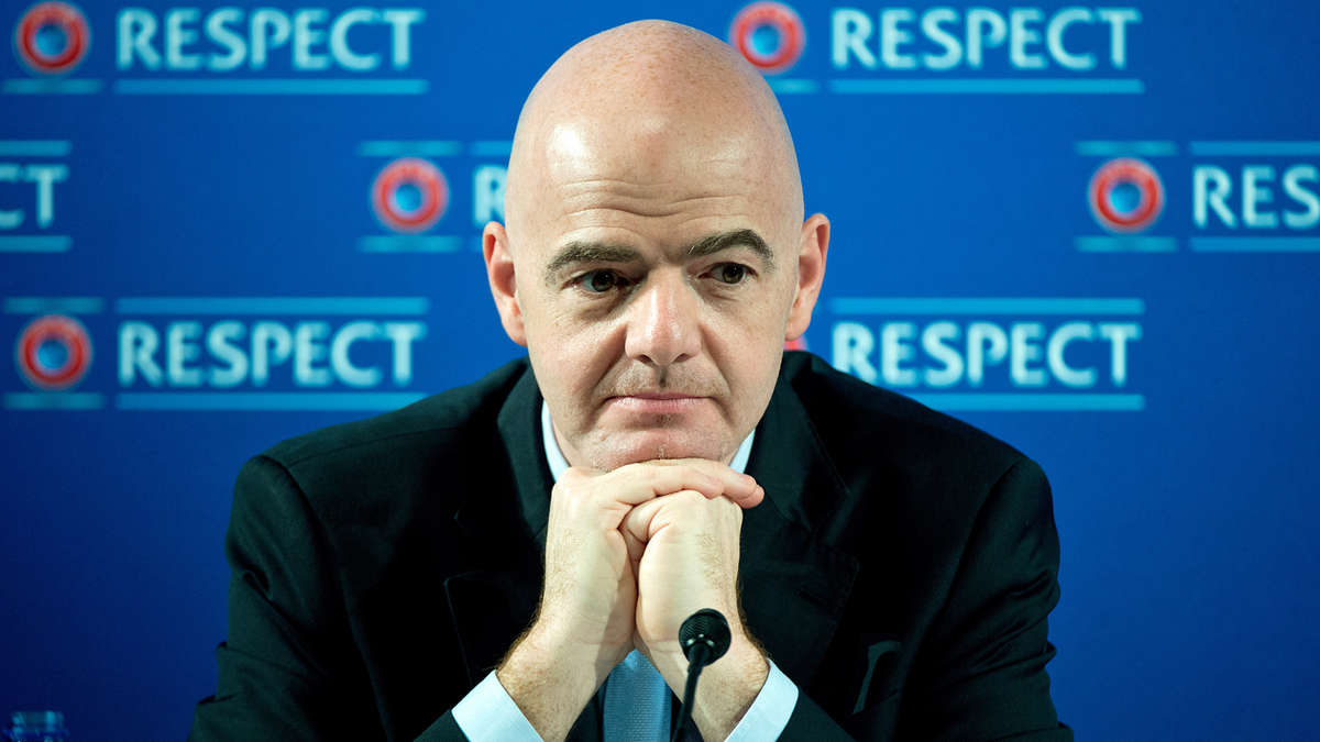 Infantile Infantino - Gianni obviously doesn't believe Sheikh Mansour is a 'good' investor at Manchester City.