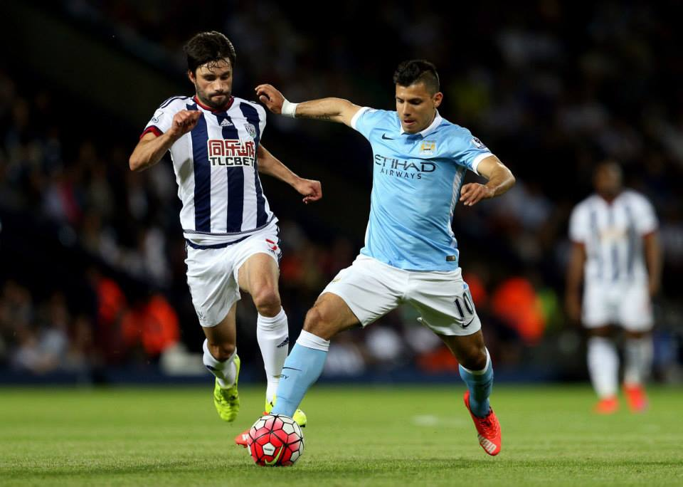 Supersub - Sergio came off the bench to play his part in City's stylish win. Courtesy@MCFC