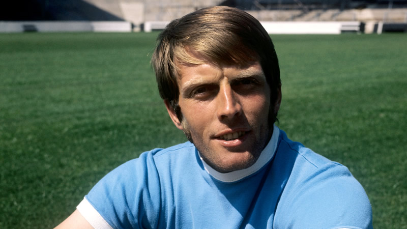 The winner - Alan Oakes scored the only goal against Crystal Palace at my first ever City game in 1970.