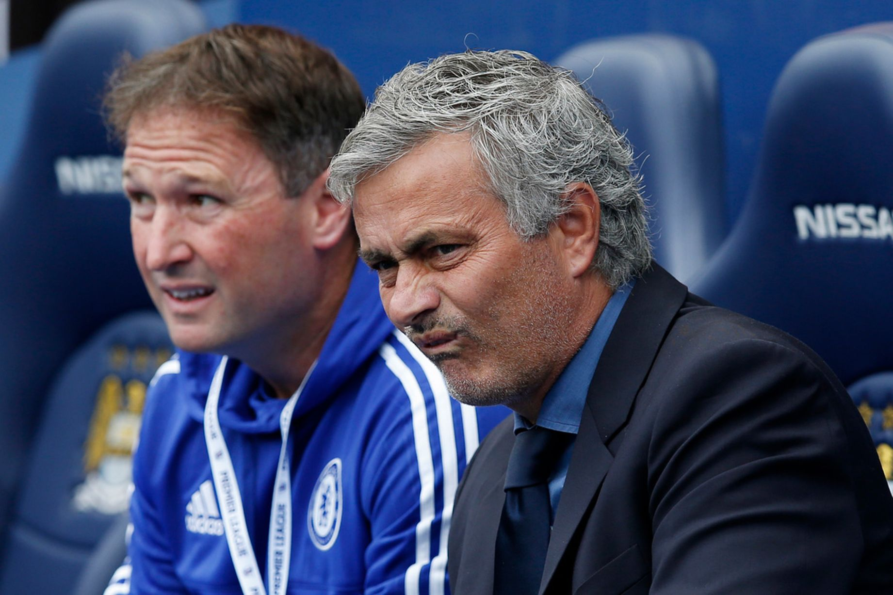 Whincing Mourinho - Yes, it hurts when you get walloped doesn't it Jose?