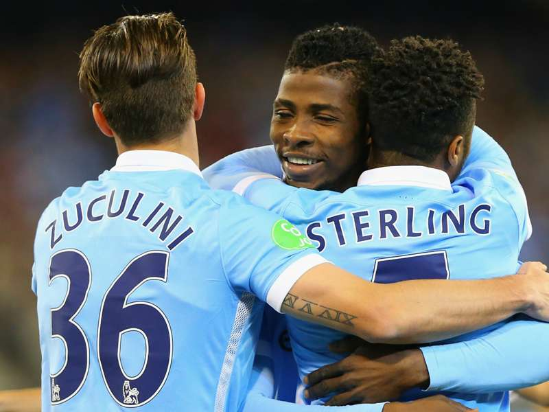 Rising star - Kelechi Iheanacho. Courtesy@MCFC