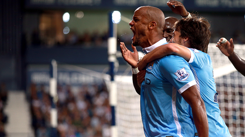 Best in the business - Kompany is vital in the bid to overcome City's defensive frailties. Courtesy@MCFC