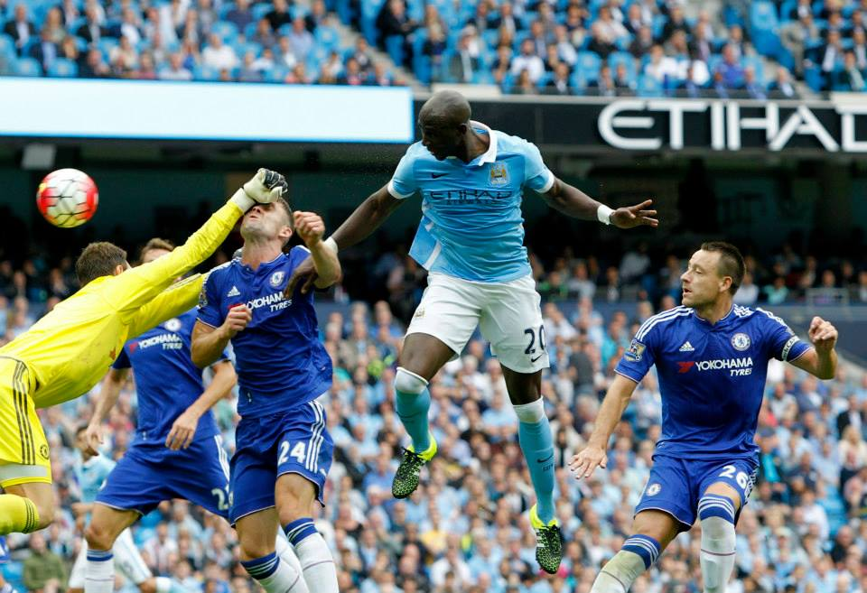 Staying put - Eliaquim Mangala is playing well and staying at the Etihad. Courtesy@MCFC