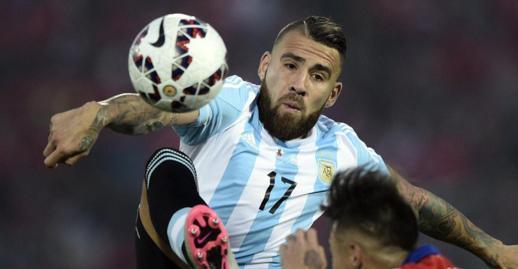 Central target - Argentine centre back Nicolas Otamendi could soon arrive at City from Valencia.