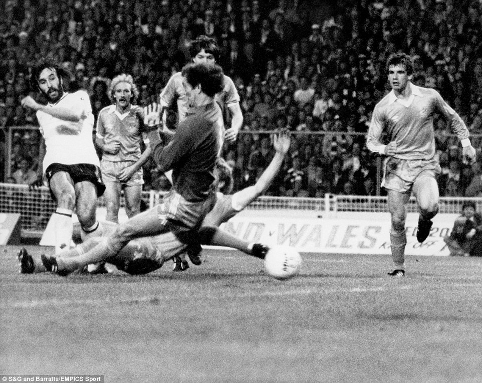 Thursday night heartbreak - City lost the 1981 FA Cup Final 3-2 to Spurs and Sean bunked off school to go to Wembley.