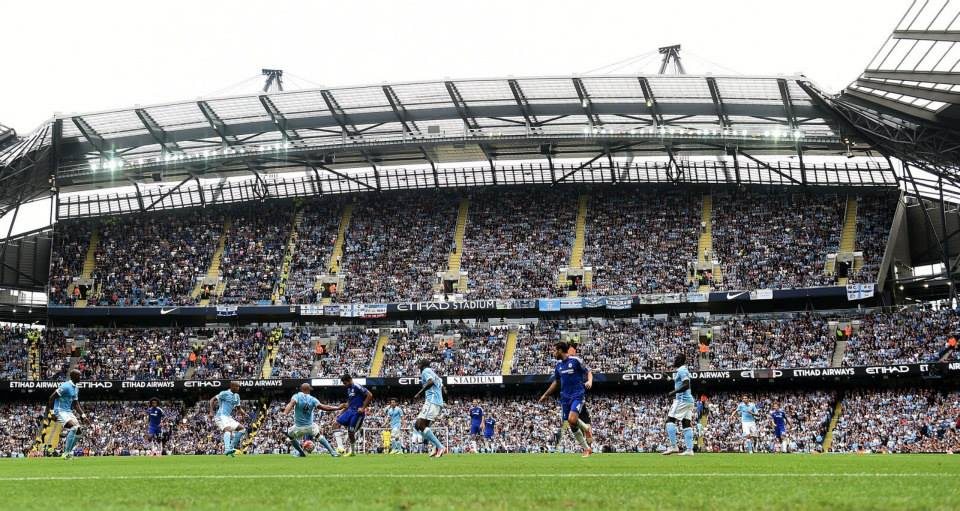 Impressive - All things MCFC - The South Stand, supporters, players, manager, coaches, tea lady etc etc. Courtesy@MCFC