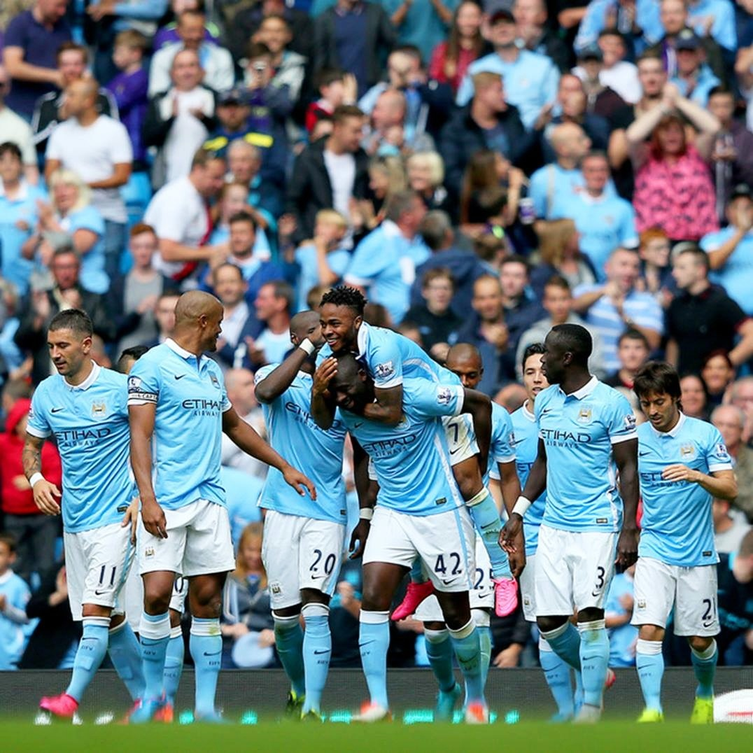Perfect 10 - City are top of the league with a 100% record - nice in any language.