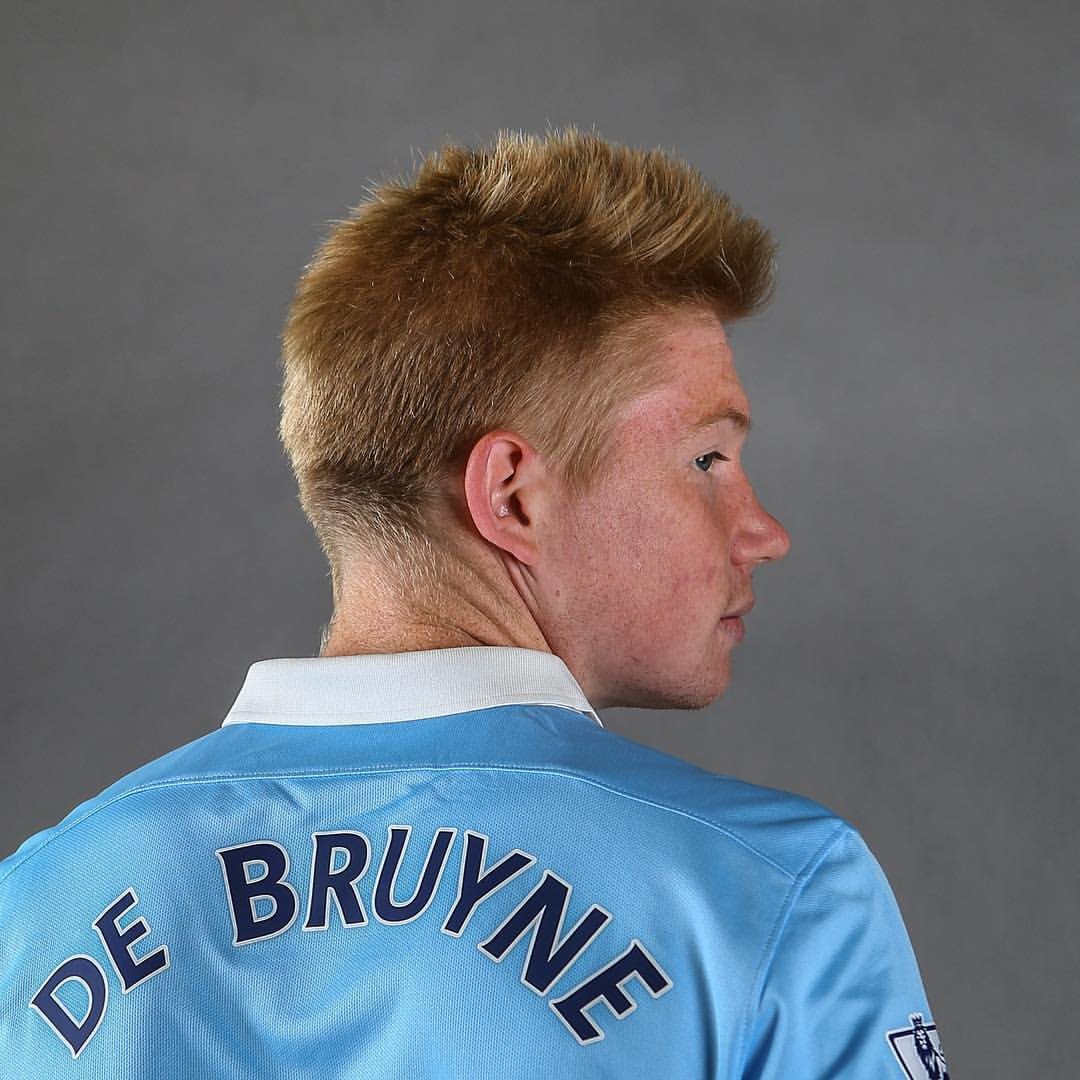 Sweet 17 - KDB finally arrived as City's record buy. Courtesy@MCFC