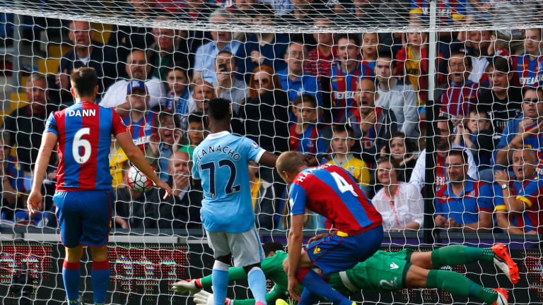 7+2 - Iheanacho scores the first of what promises to be many goals for City and could earn him the No 9 shirt.