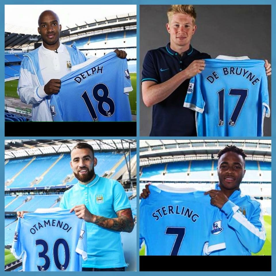 4x4 - This quartet should help drive City all the way to a 3rd Premier League title in 5 years.