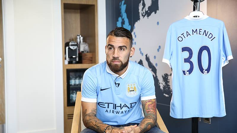 First team start - Nicolas Otamendi should replace injured skipper Vincent Kompany. Courtesy@MCFC