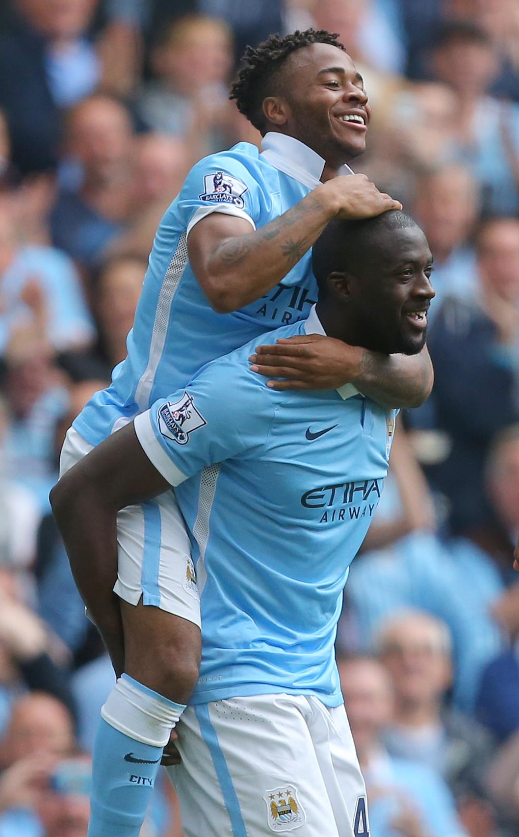 Sterling on the rise - Raheem has slotted in and added a new dimension to City's attack. Courtesy@MCFC
