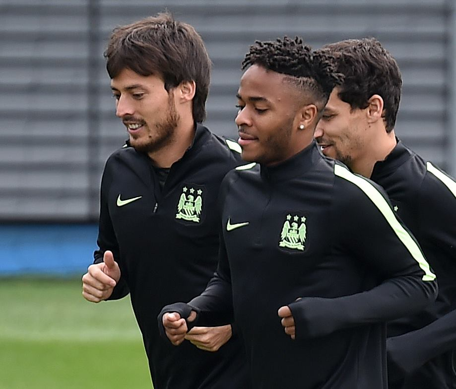 Raising the standards - Sterling and Silva are back for the visit of Juventus. Courtesy@MCFC