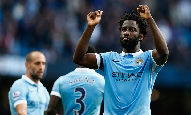 Feverish show - Bony has shaken off the effects of Malaria to return to goalscoring form.
