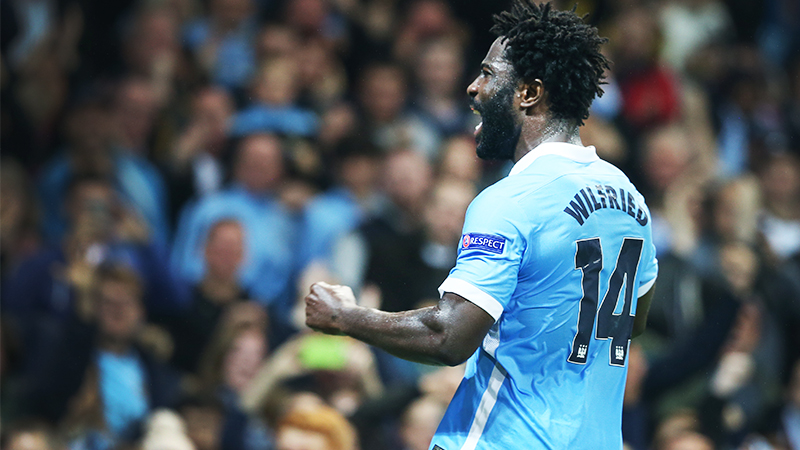 Bony of contention - Wilfried has still to show his best for for City. Courtesy@MCFC