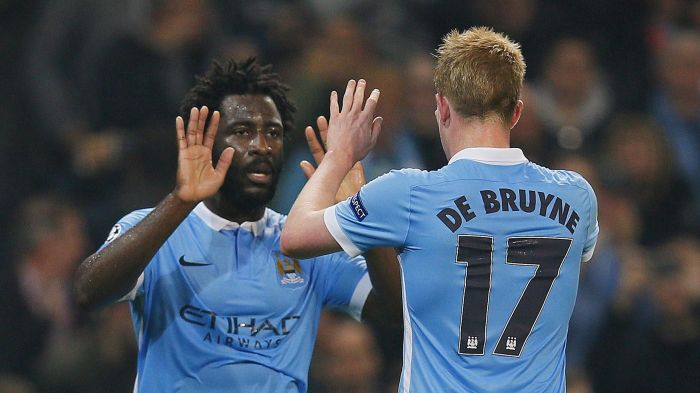 Contrasts - KdB is already a firm favourite with the fans, whereas Bony still has work to do.