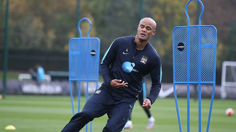 Good Kompany - City & Belgium skipper Vincent played for his country and is now back for his club. Courtesy@MCFC