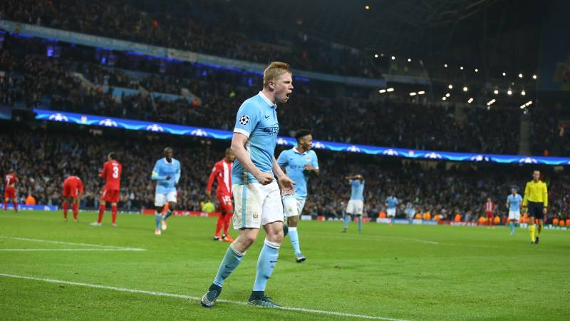 Belgian Bargain - KdB is looking like a steal at £54m. Courtesy@MCFC