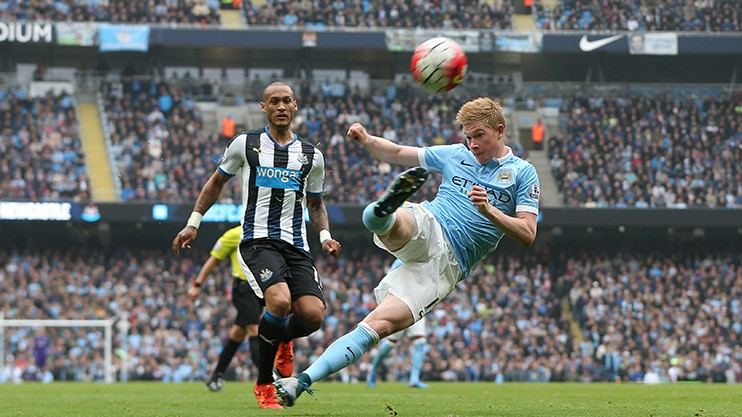 Wonder strike - Kevin de Bruyne has been a class act during his short time at the Etihad.