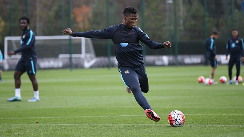 Ready to strike - Kelechi Iheanacho can help fill the void left in Aguero's absence. Courtesy@MCFC