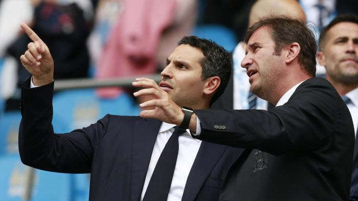 Scoreboad puzzler - Chairman Khaldoon could be asking CEO Ferran Soriano if the Etihad scoreboard can cope, if as & when City reach double figures in a match.