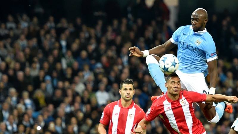 Odd man out? Could Mangala make way for Kompany's return at Old Trafford? Courtesy@MCFC