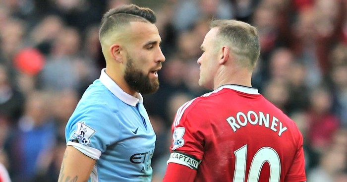Hair-raising - 30-year old Rooney had no answers when it came to getting past City's Number 30.
