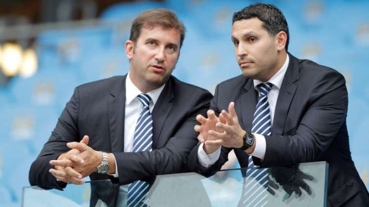 Doing the business - Ferran Soriano and Khaldoon have a great financial model at City.