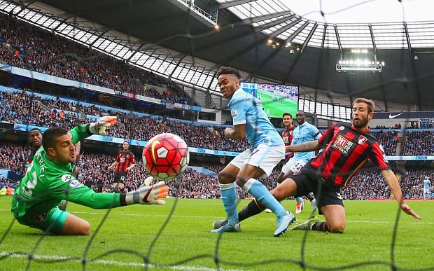 Net profits - Sterling pushes City's stock even higher.