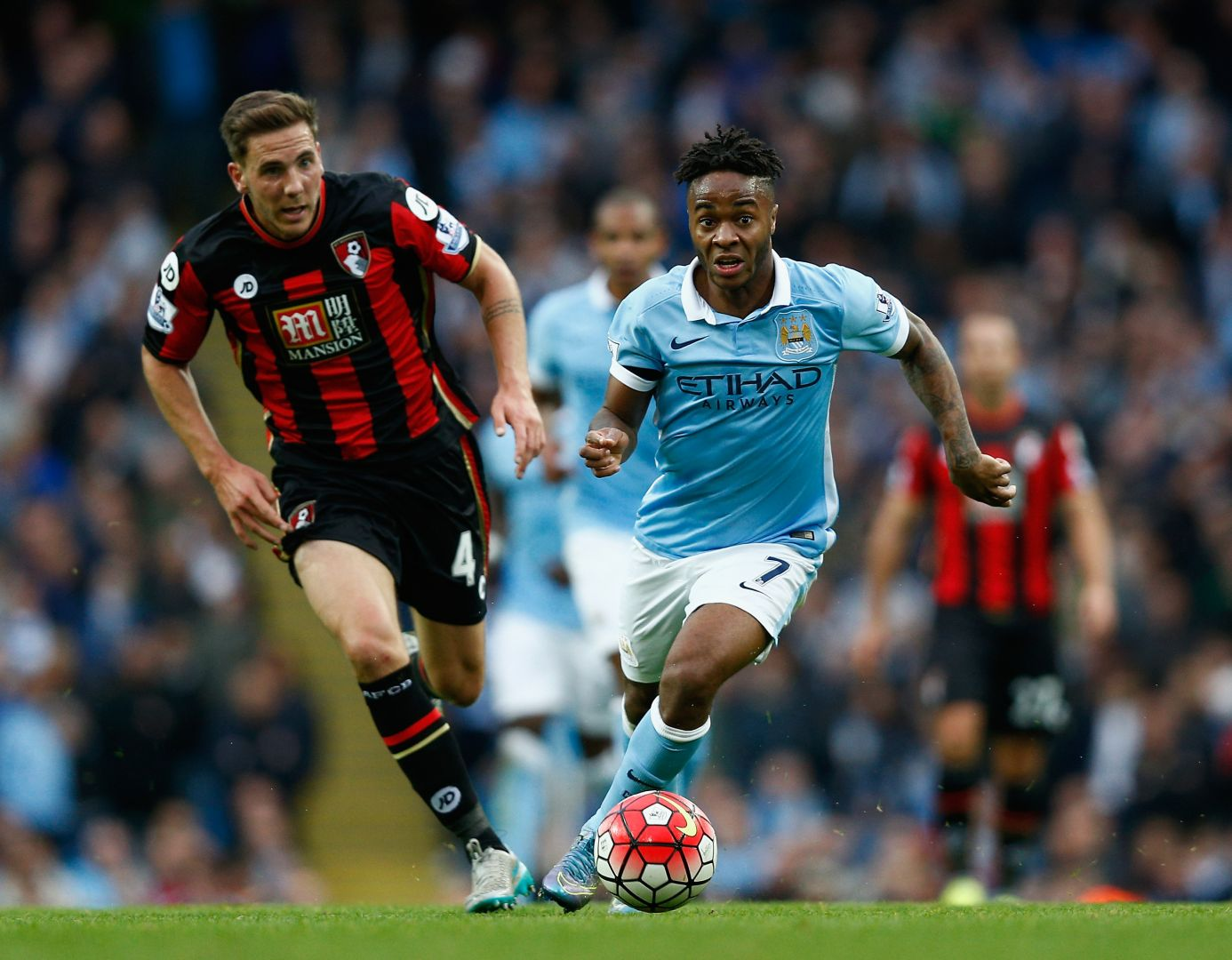 Sterling charge - Bournemouth didn't get any change out of a rampant Raheem.